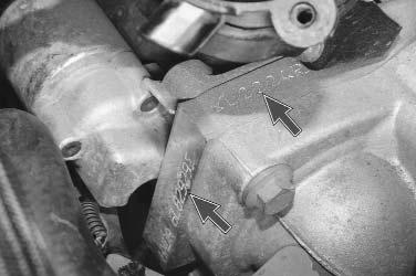 Где находится номер двигателя форд фокус