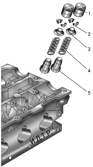 Замена маслосъемных колпачков форд фокус 2 двигатель 1.8 своими руками