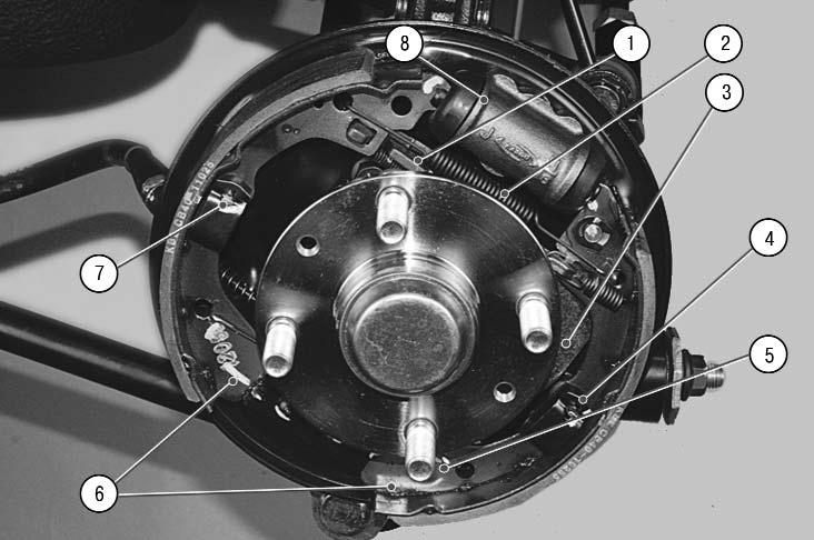 Замена задних тормозных колодок на киа спектра