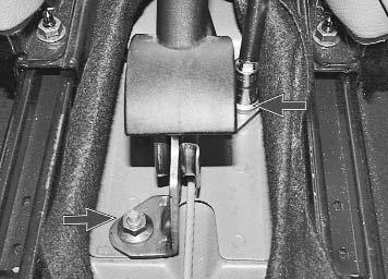 "Регулировка стояночного тормоза (""ручника"" ) Рено Логан 1,4 | Новый Logan"