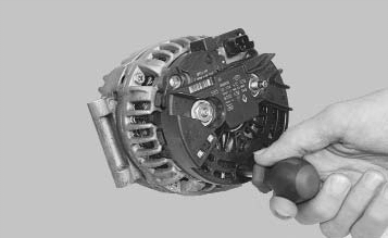 Ремонт генератора рено логан своими руками