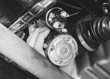 Ремонт Renault Logan : Снятие и установка стартера