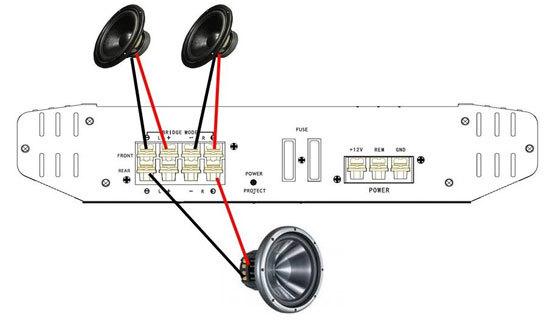 Как правильно подключать сабвуфер к усилителю схема