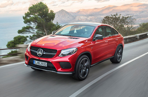 Мercedes GLE Coupe