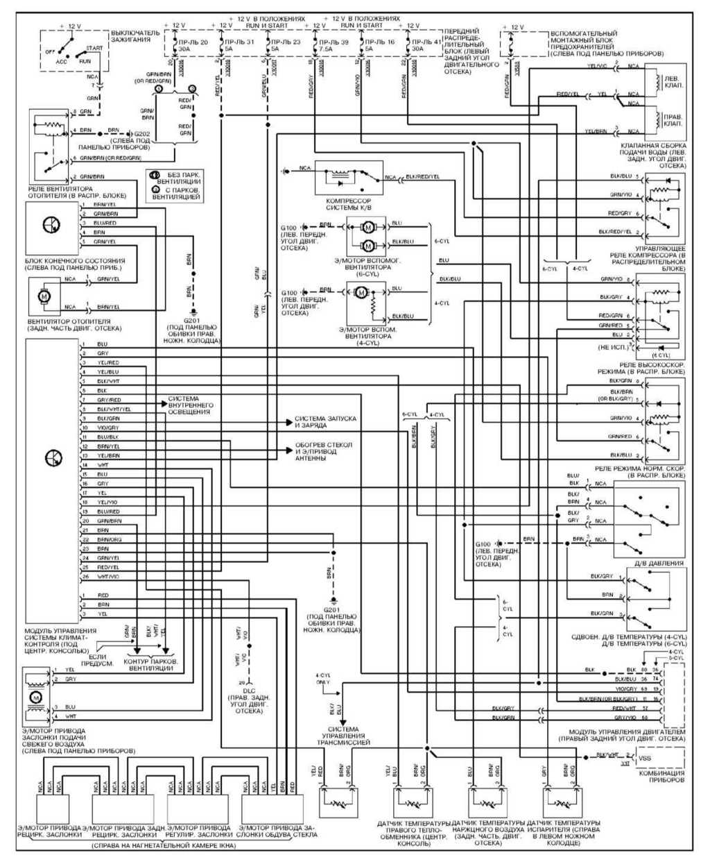 Схема блока комфорта бмв е36