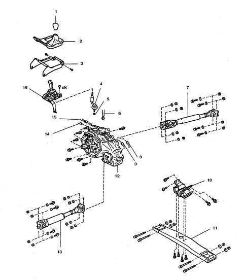 Форд фокус 2 рестайлинг каталог запчастей схема