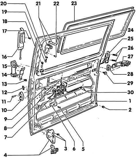 Дверь сдвижная фольксваген транспортер т4 ленточные транспортеры к трактору