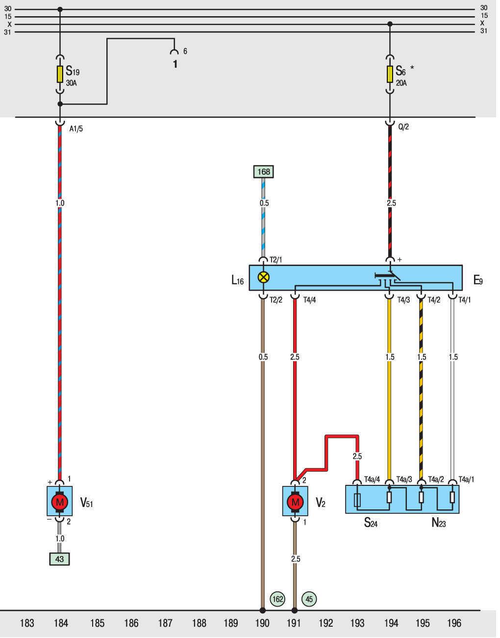 Схема подачи топлива дизеля фольксваген