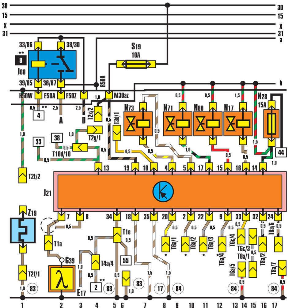 схема digifant