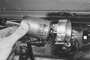 Замена топливного фильтра приора своими руками