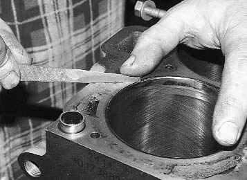Дефектовка деталей двигателя