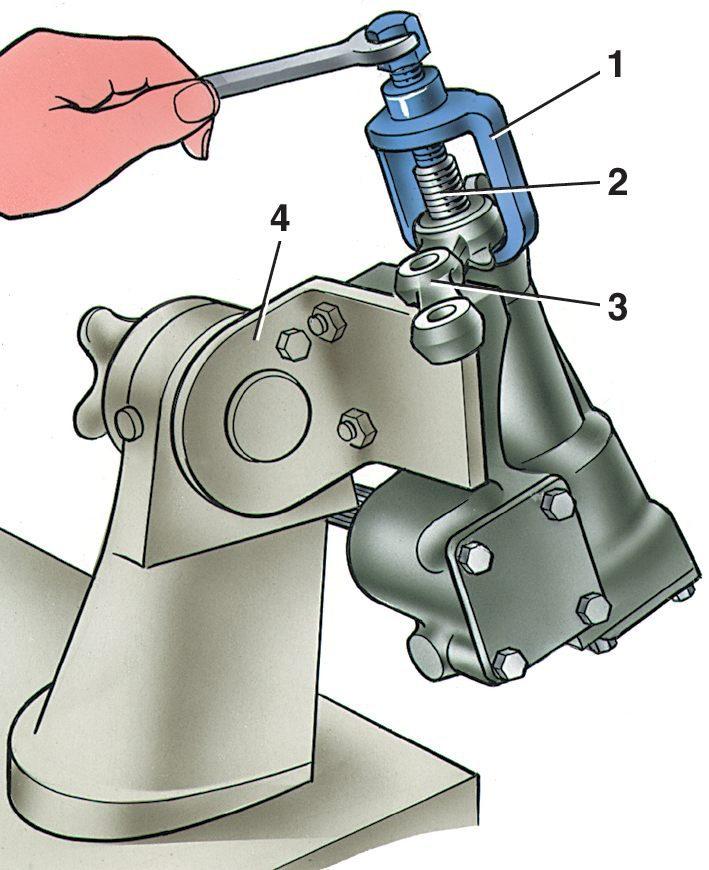 Ремонт рулевого редуктора ваз 2107 своими руками
