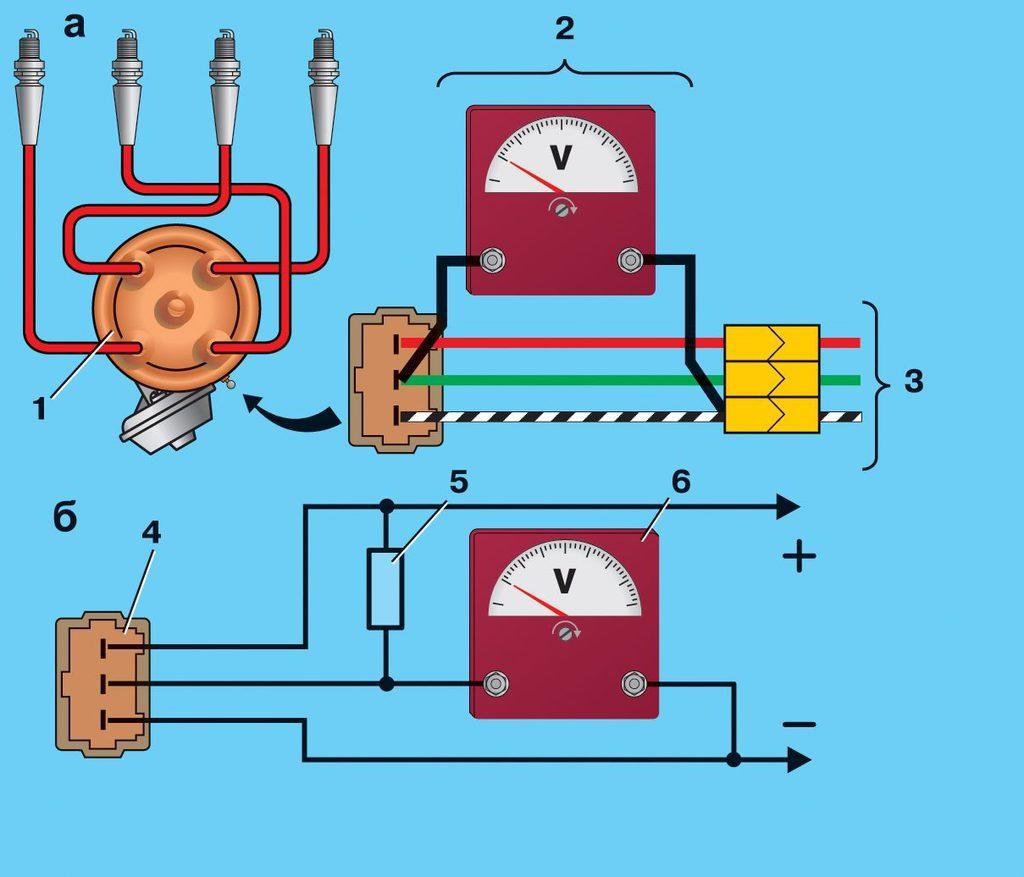 Бесконтактное зажигание схема проводов