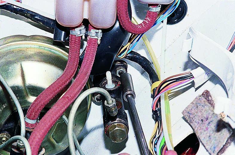 замена выжимного цилиндра ваз 2106 ручей