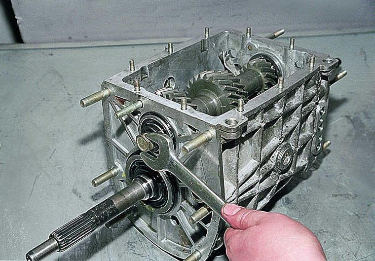 Коробка передач 5 ступка на ваз ремонт своими руками
