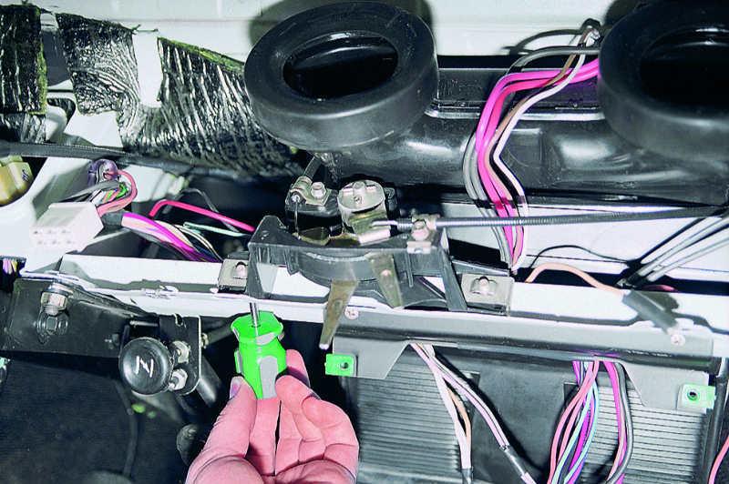 Ваз 2106 ремонт печки своими руками 51