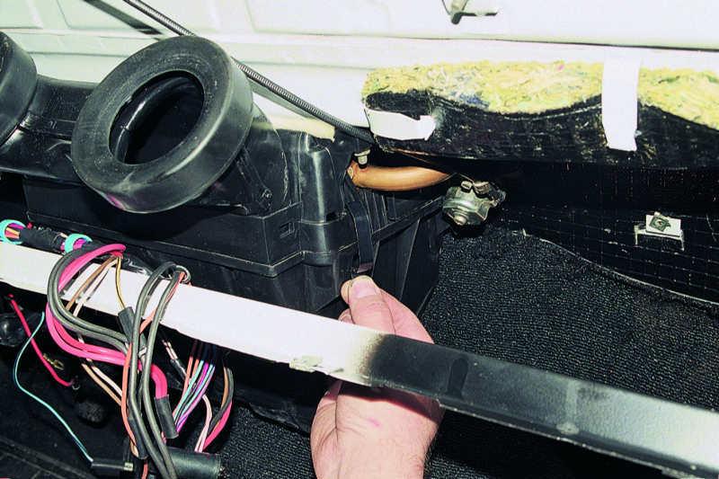 Ваз 2106 ремонт печки своими руками 15