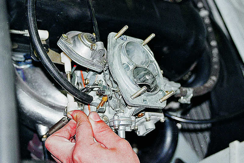 Ваз 2107 ремонт своими руками карбюратор фото