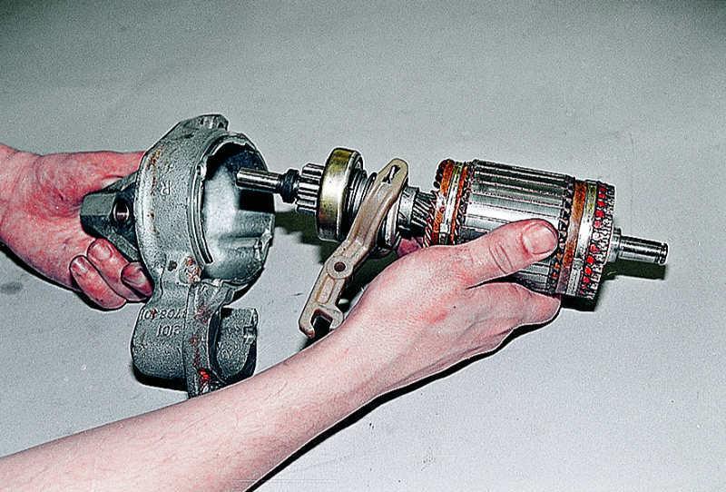 Стартер ваз 2106 ремонт своими руками фото