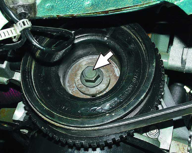 Фото №10 - какая резьба на коленвале ВАЗ 2110