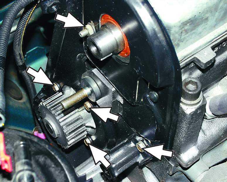 Фото №21 - ремонт помпы ВАЗ 2110