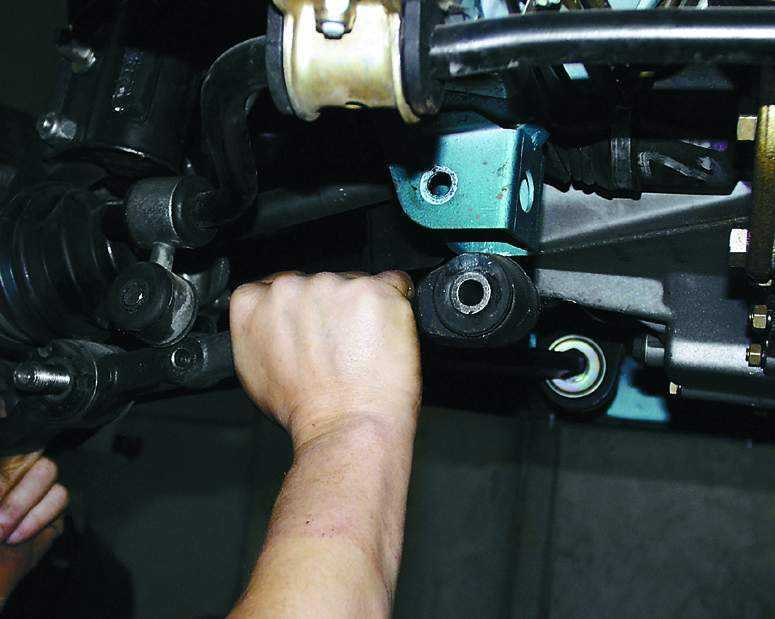Фото №5 - ремонт подвески ВАЗ 2110 своими руками
