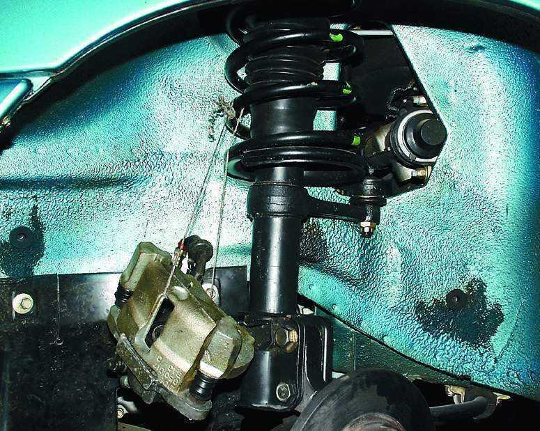 Фото №28 - замена передних тормозных дисков ВАЗ 2110