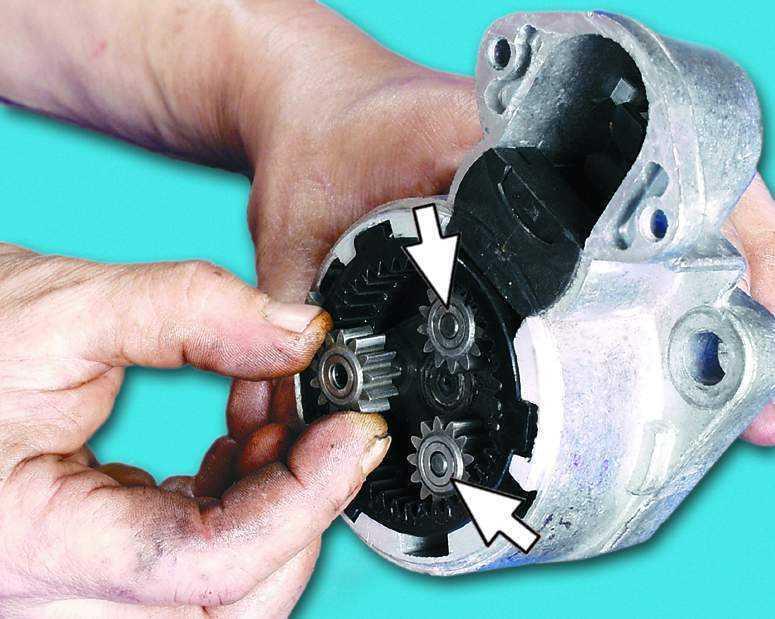 Фото №6 - ремонт редукторного стартера ВАЗ 2110