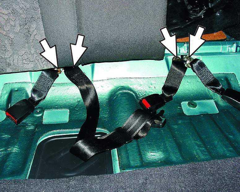 Фото №4 - ремень безопасности ВАЗ 2110 ремонт