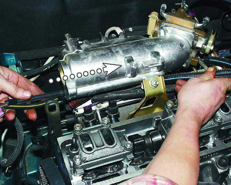 Фото №12 - замена прокладки головки блока цилиндров ВАЗ 2110