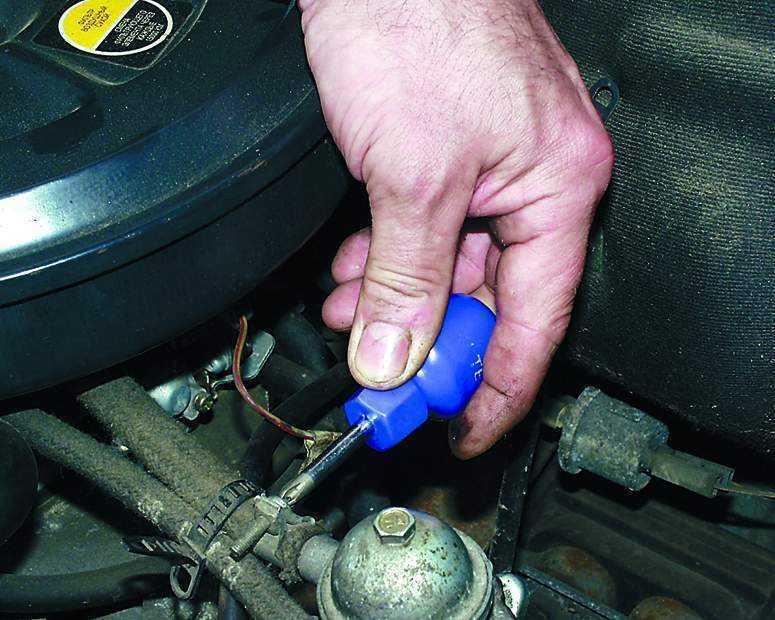 Фото №28 - как проверить топливный насос ВАЗ 2110
