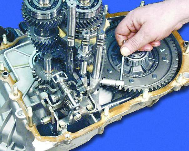 Коробка передач ваз 21099 ремонт своими руками