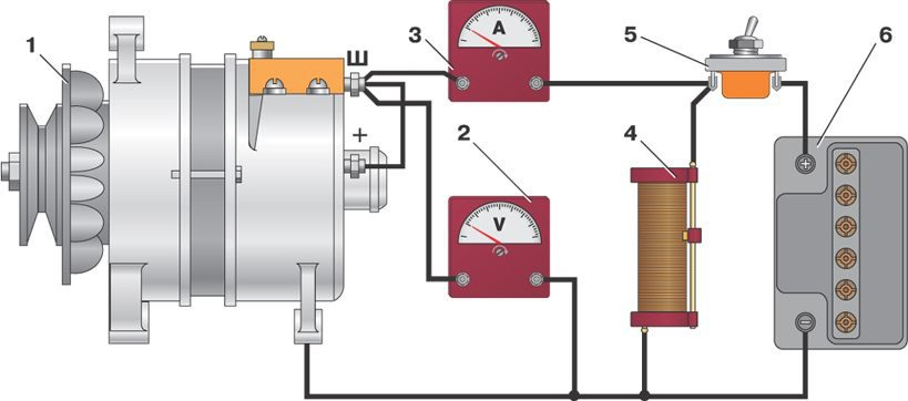 схема проводки для мотоблока Форте фото