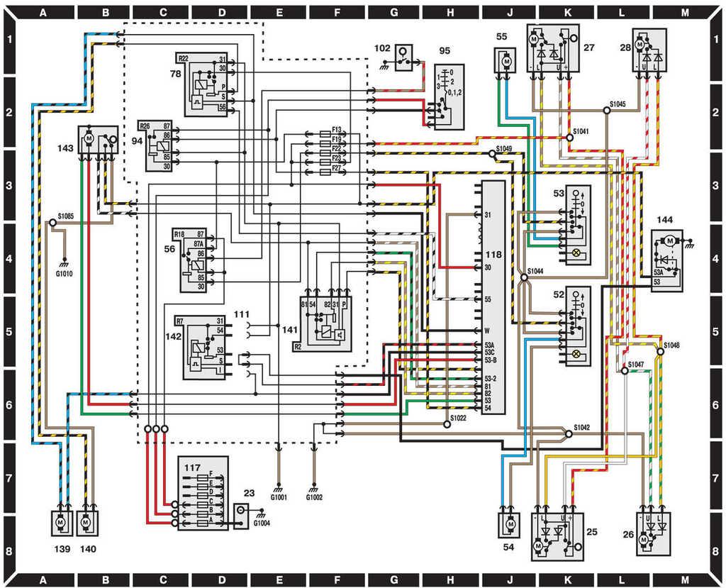 Схема зажигания форд эскорт фото 849