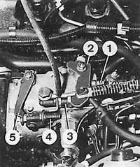 поднять давление впрыска топливного насоса ford sierra.