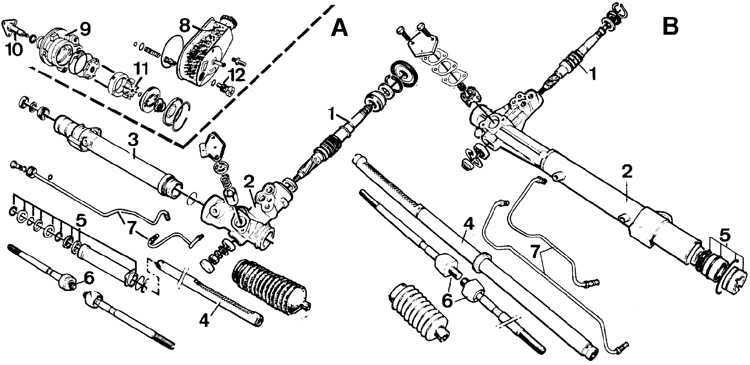 Рулевая рейка форд эскорт ремонт своими руками
