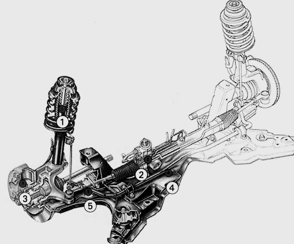 автомобиля 1 ford подвески универсал устройство focus задней