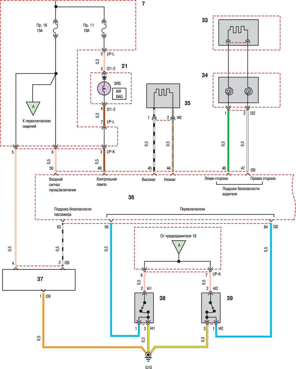 Схема электрооборудования хендай соната фото 628