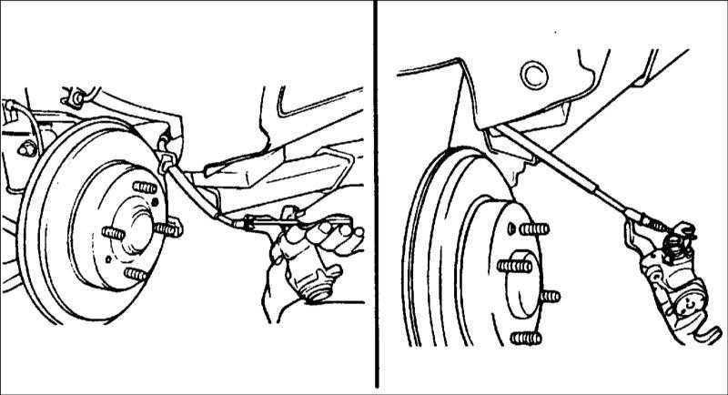 регулировка стояночного тормоза hyundai elantra