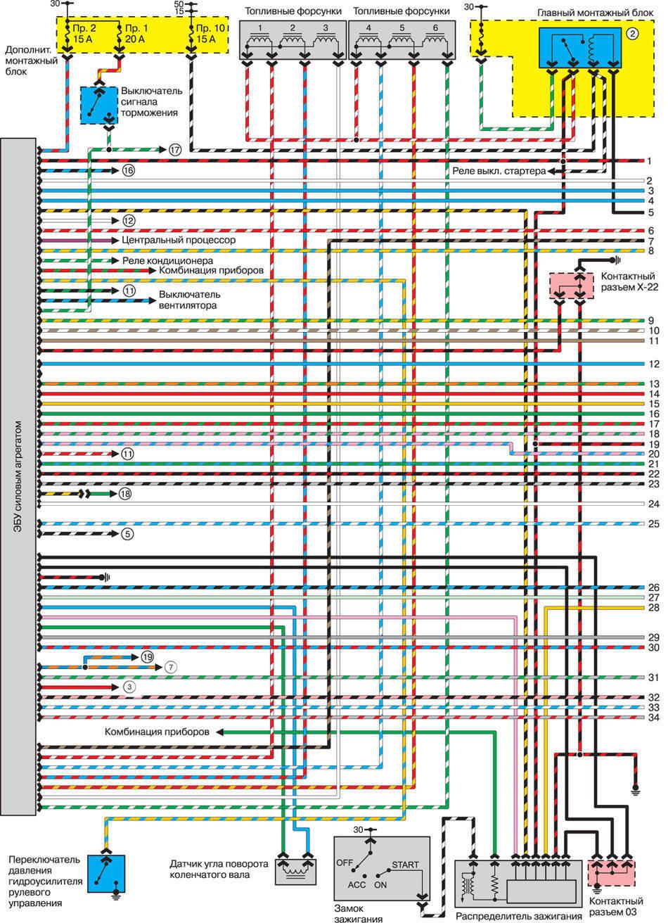 Блок управления вентилятором мазда 3 схема