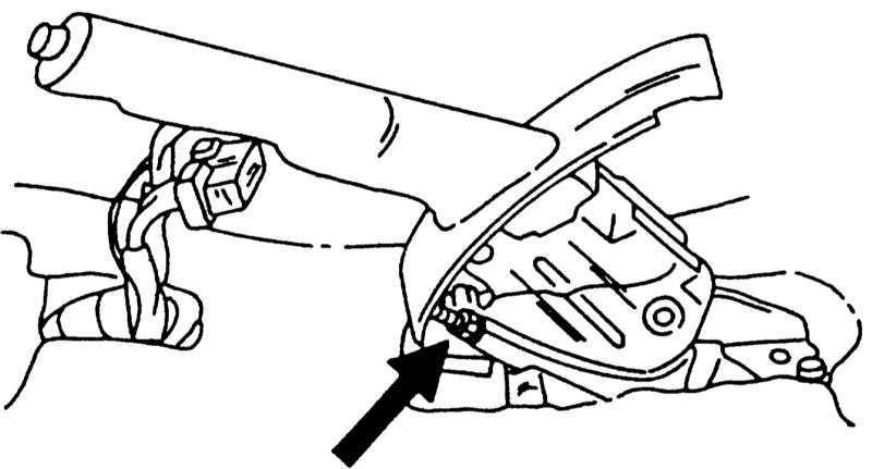 Регулировка тормозов Nissan Primera