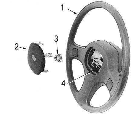Снятие и установка рулевого колеса Nissan Patrol