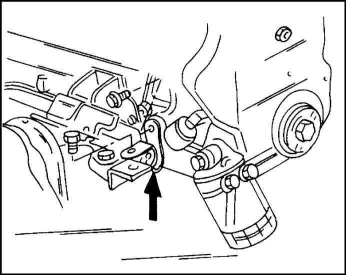 Двигатель вынимается из отсека