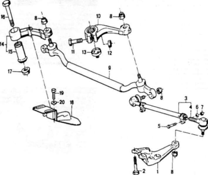 как произвести ремонт поперечной рулевой тяги bmw 518