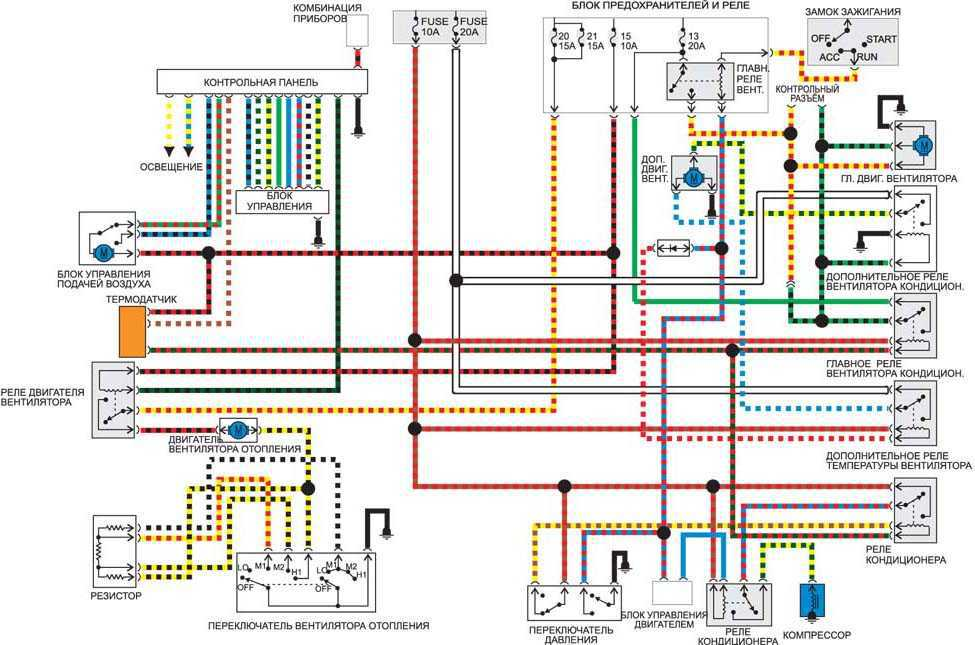 Subaru legacy b4 электрические схемы
