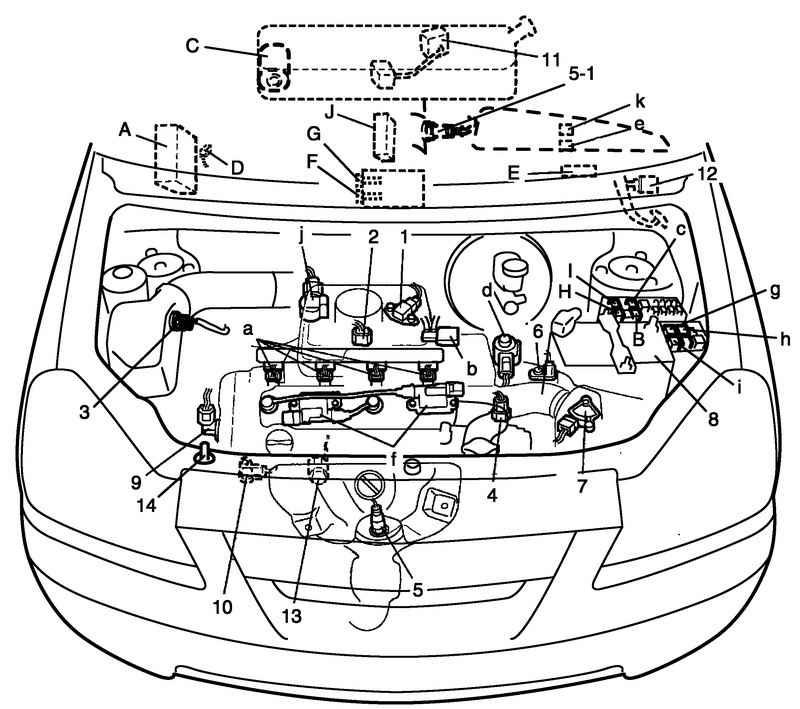 Ремонт Сузуки Лиана : Двигатель и система снижения токсичности