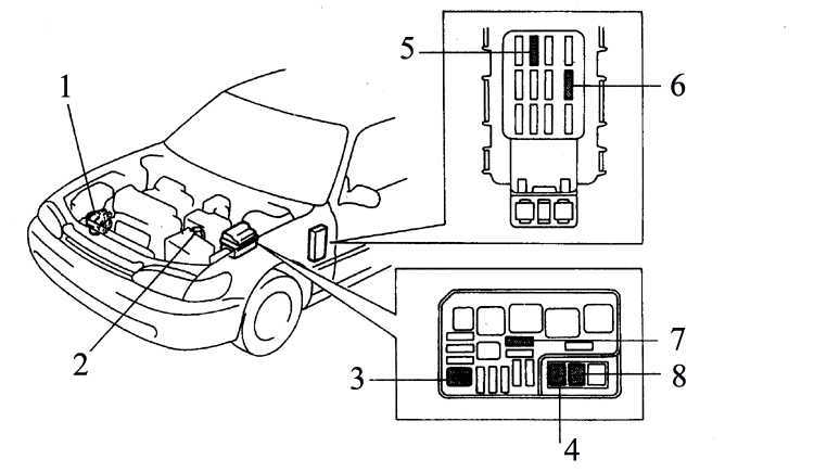 Система заряда батареи Toyota Corolla